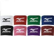 Mizuno Wristbands 370107 2 Inch Wristbands (Red)