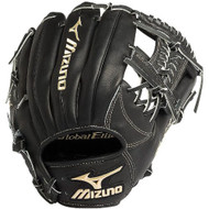 Mizuno GGE50VBK Global Elite VOP Baseball Fielder's Mitt (Black, 11.75-Inch) (Right Handed Throw)