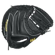 Wilson A2000 Baseball Catcher's Mitt, Black Right Hand Throw 33-Inch