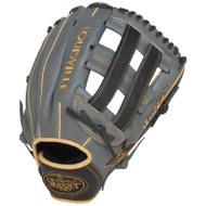 Louisville Slugger FG25GY5 125 Series Gray Fielding Glove, 12.5-Inch Left Hand Throw