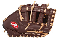 Rawlings GGLESC21-125 Left Hand Throw Gold Glove 12 Inch First Base Mitt 125th Anniversary
