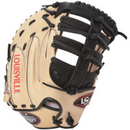 Louisville Slugger Pro Flare First Base Mitt Cream Black Right Hand Throw