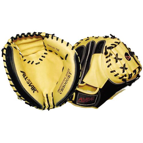 All-Star Professional CM3000 Series 35 Baseball Catcher's Mitt - Right Hand Throw