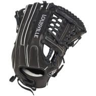 Louisville Slugger FGSZBK5 Super Z Black Fielding Glove 14-Inch Left Hand Throw