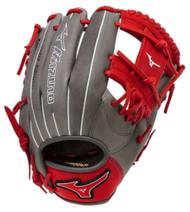 Mizuno MVP Prime SE GMVP1154PSE4 Infield Gloves Smoke Red Right Hand