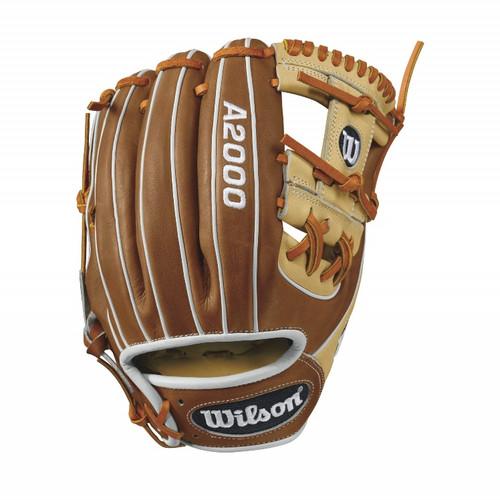 Wilson A2000 1786 Infield Baseball Glove BlondeTanWhite 11.5inch Right Hand Throw