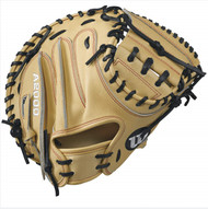 Wilson A2000 CM33 Baseball Glove BlondeRed 33inch Right Hand Throw