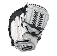Wilson A2000 CM34 SuperSkin Fastpitch Glove BlackWhite