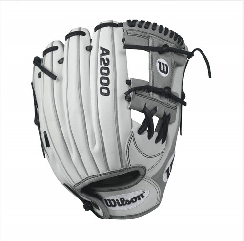 Wilson A2000 H12 Fastpitch Glove Whitegray 12inch Right