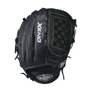 Louisville Slugger Xeno 12.75 Inch Fastpitch Softball Glove Closed Basket Black Right Hand Throw