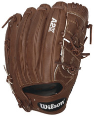 Wilson 2016 A2K B212 Pitcher Baseball Glove Walnut White Logos