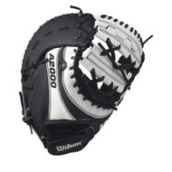 Wilson A2000 BM12 SuperSkin Fastpitch Glove BlackWhite 12 Left Hand Throw