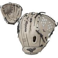 Mizuno MVP Prime SE 12.5 Inch GMVP1250PSEF5 Grey Black Fastpitch Softball Glove Right Hand Throw