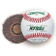 Diamond Bucket with 5 doz Diamond D1-NFHS baseballs