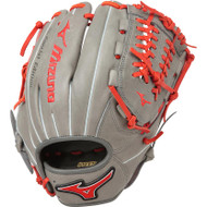 Mizuno MVP Prime SE 11.75 Inch GMVP1177PSE5 Baseball Glove  Smoke Red Right Hand Throw