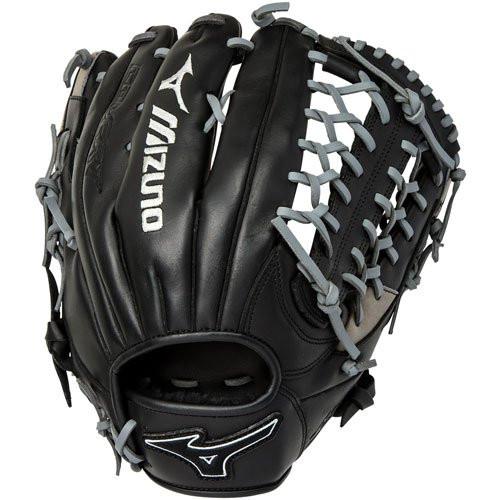 Mizuno MVP Prime SE Baseball Glove Black Smoke 12.75 Right Hand Throw