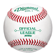 Diamond DOL-1 Official League NFHS Baseball One Dozen