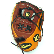 Wilson A2K Game Model Dustin Pedroia Oil Stanned Baseball Glove Right Hand Throw 11.5 Inch