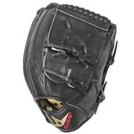 All-Star FGS7-PT2BK Black 12 inch Baseball Glove Right Hand Throw  …