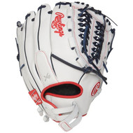 Rawlings Liberty Advanced 12.5 in Fastpitch Finger Shift Outfield Glove Right Hand Throw