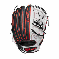 Wilson A200 Fast Pitch Softball Glove Monica Abbot 12.25 Right Hand Throw