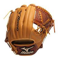 Mizuno GGE42 Global Elite Baseball Fielder's Mitt (Tan 11.25 Inch) (Right Handed Throw)