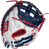 Rawlings Liberty Advanced Softball Catchers Mitt 33 RLACM33FPW Right Hand Throw