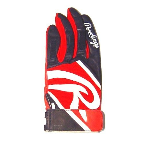 Rawlings Adult Batting Glove Authentic MVP Model (XL, Right Hand)