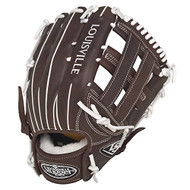 Louisville Slugger Xeno Pro Brown 12.5 inch Softball Glove (Right Handed Throw)