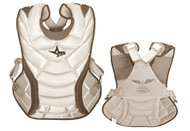 "All-Star System 7 Womens Chest Protector 13"" (White/Scarlett)"