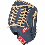 Rawlings GXLE175NC Navy Camel Gamer XLE Series 11.75 inch Baseball Glove (Right Handed Throw)