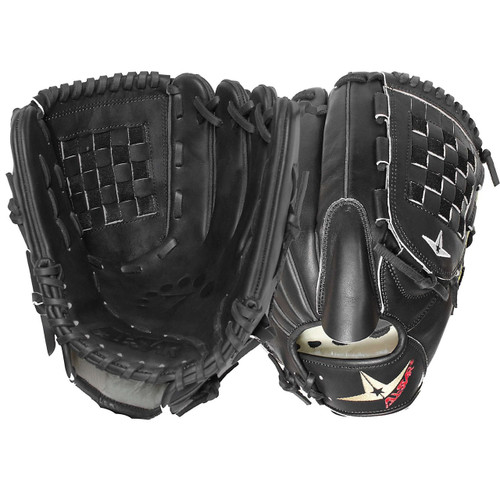 All-Star System Seven FGS7-PTBK Baseball Glove 12 Inch (Right Handed Throw)
