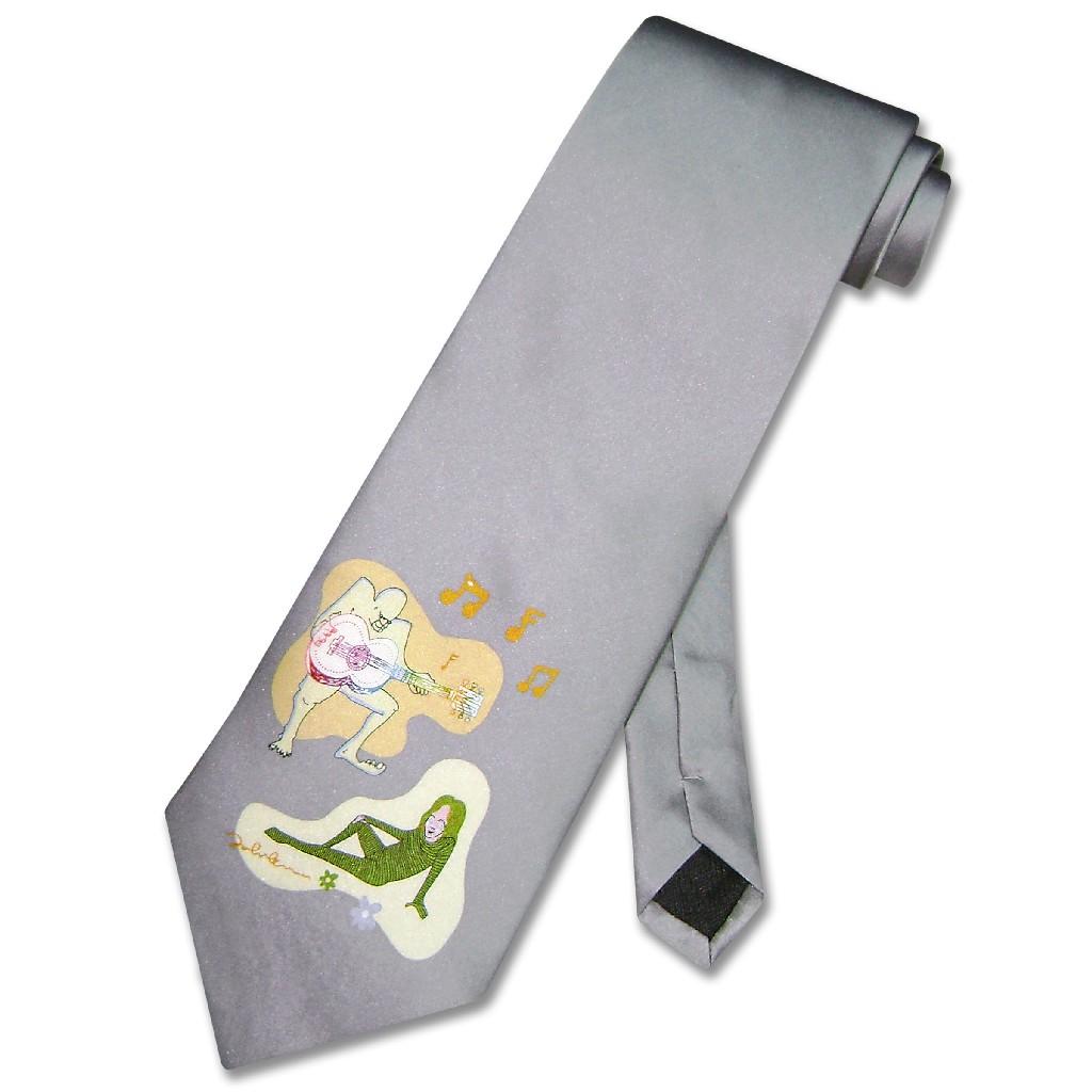 John Lennon 100% SILK NeckTie Man Woman Star Logo Men's Neck Tie