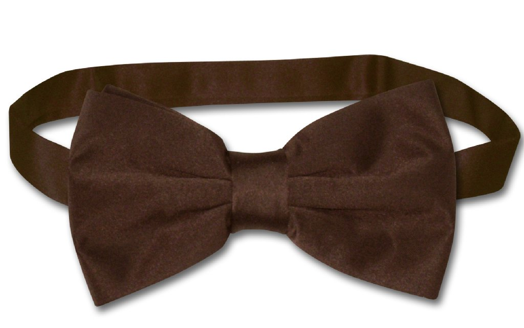 Chocolate Brown Bow Tie | Chocolate Color Brown BowTie Set