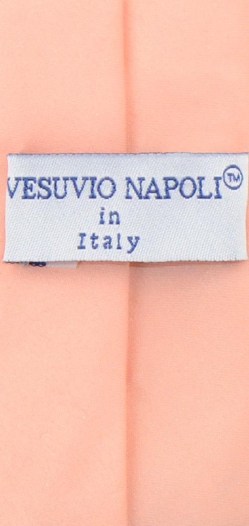 """Vesuvio Napoli Narrow NeckTie Skinny PEACH Color Men's Thin 2.5"""" Neck Tie"""