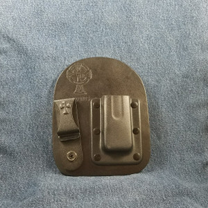 11983 CrossBreed IWB Mag Carrier Cow Right Smith & Wesson Shield 9/40