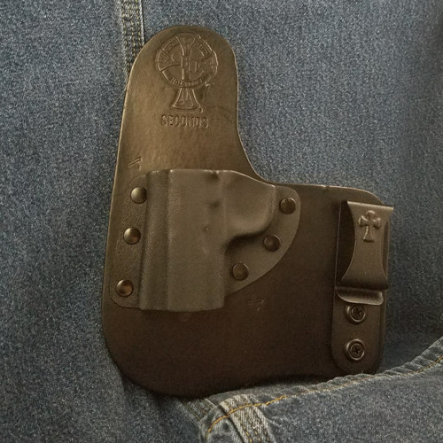 12676 CrossBreed Freedom Carry SIG P938 Left Hand Black Cow