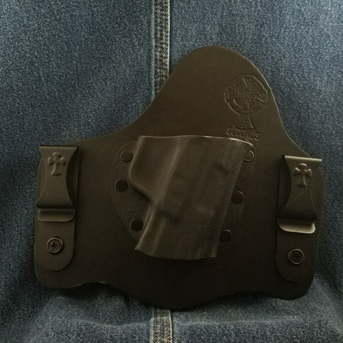 12974 Crossbreed SuperTuck RUGER AMERICAN Right Hand Black Cow