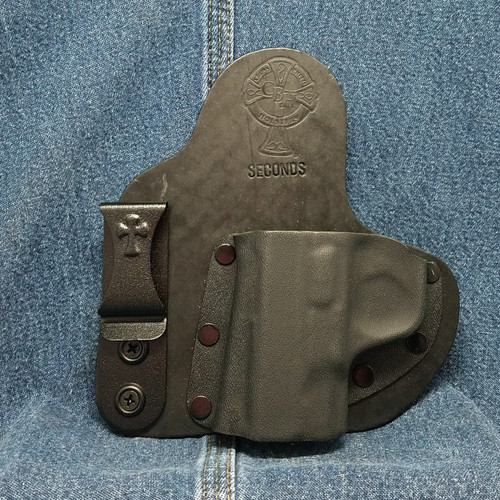 13046 CrossBreed Appendix Carry SMITH & WESSON SHIELD /  Left Hand / Black Cow