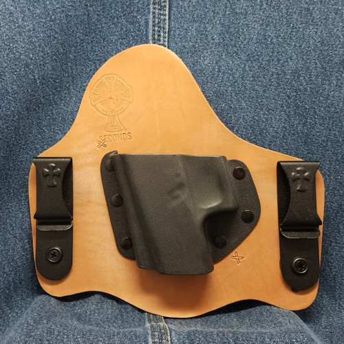 11688 CrossBreed SuperTuck GLOCK 36-No Rail / Left Hand / Horse