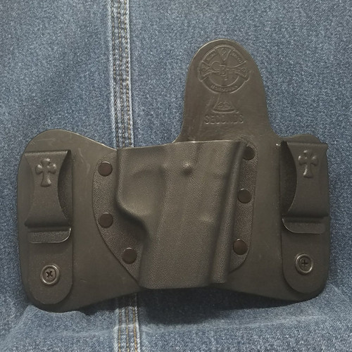 13189 CrossBreed MiniTuck KAHR T/TP 9/40 / Right Hand / Black Cow