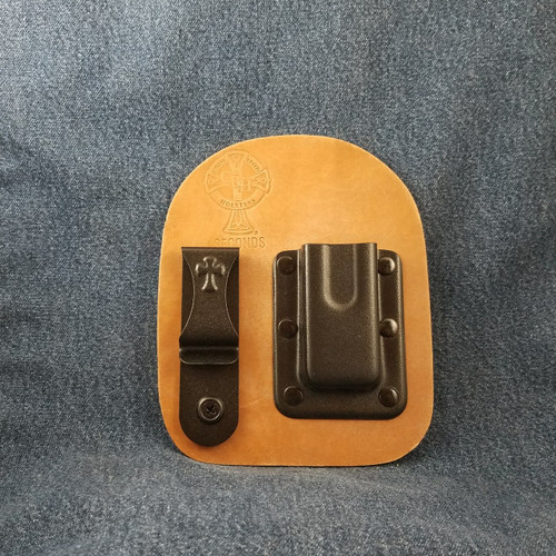 12151 CrossBreed IWB Mag Carrier Single/Single Stack Right Side Carry 9