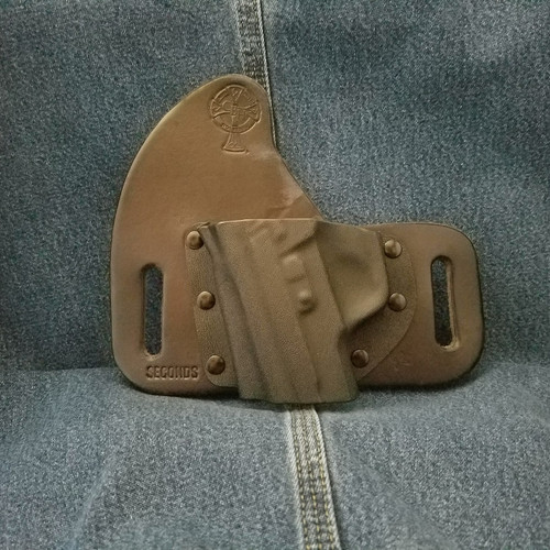 12286 CrossBreed SnapSlide Sig P228 Early Half Rear Cocking Serrations / Left Hand / Black Cow / Sweatguard /Combat Cut