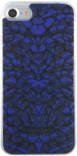 Hard-case, Cristian Lacroix PANTIGRE for iPhone 7, Plastic, Blue.