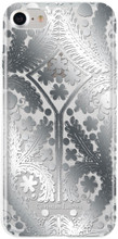 Hard-case, Cristian Lacroix Paseo for iPhone 7, Plastic, Silver grey.