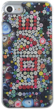 Hard-case, Cristian Lacroix LOVE collection for iPhone 7, Plastic, Multi Colour.