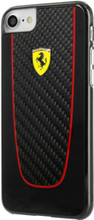 "Hard-case, Ferrari ""PIT STOP"" Collection for iPhone 7, Carbon Fiber, Black."