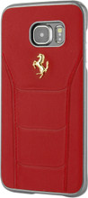 "Hard-case, Ferrari ""488"" Collection for Samsumg Note 5, Genuine Leather, Red."