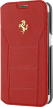 "Booktype, Ferrari ""488"" Collection for Samsumg S7 Edge, Genuine Leather, Red. front view"