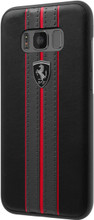 Hard-case, Ferrari URBAN Collection for Samsung S8, PU leather, Black.